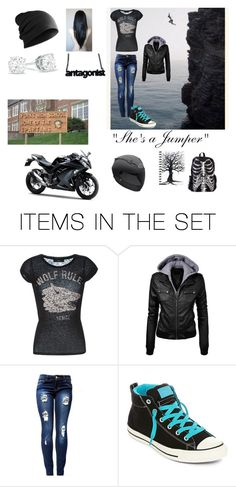"""Shes a jumper"" by the-red-raven on Polyvore featuring art"