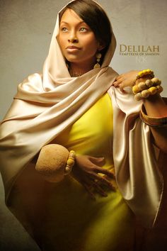"""Delilah by International Photographer James C. Lewis - """"What Would Characters From The Bible Really Look Like? Here's One Photographer's Idea"""" James C Lewis Blacks In The Bible, Afro, Bible Images, Bible Pictures, Art Pictures, Black Jesus, African Royalty, Atlanta Photographers, Biblical Art"""