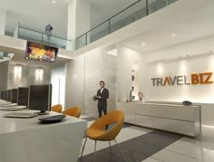 travel agency office design