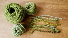 Tagrør2 (5) Uld, Crochet Necklace, Wool, Knitting, Planter, Nature, Colors, Naturaleza, Tricot