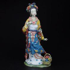 Porcelana de cerámica de arte popular tradicional chino clásicos historia figurita colección vivid y artesanía elegante para el regalo(China (Mainland))