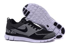 low priced 89b23 d9722 NIKE FREE fly line 5.0 Black and white women All Black Nikes, Black Nike  Shoes