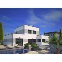 zp 07 toiture en zinc quartz benodet architecte l. Black Bedroom Furniture Sets. Home Design Ideas