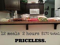 The richenna clan: My Freezer Meal Journey: Month 2