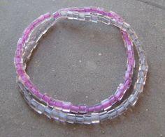 Braccialetto elastico di perline fucsia e di LecreazionidiVicky, €3.50