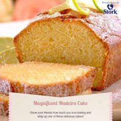 Madeira cake #recipe Stork Recipes, Cupcake Recipes, Baking Recipes, Cupcake Cakes, Dessert Recipes, Cupcakes, Irish Recipes, Kenyan Recipes, English Recipes