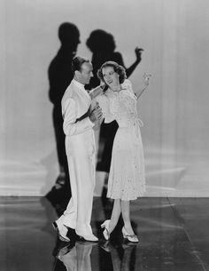 Fred Astaire (1899 - 1987) and Eleanor Powell (1910 - 1982) dancing in a scene from the MGM film ' Broadway Melody of 1940', another sequel in the Broadway series. Description from gettyimages.com. I searched for this on bing.com/images