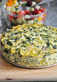 The incredible vegan frittata
