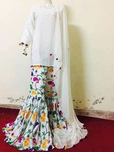 Nyccc Stylish Dresses, Simple Dresses, Casual Dresses, Fashion Dresses, Casual Wear, Fashion Pants, Beautiful Dresses, Pakistani Outfits, Indian Outfits