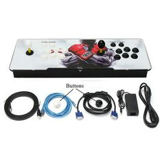 PandoraBox 4s 800 in 1 TV Jamma Arcade Console Kit Joystick Button VGA Arcade Game