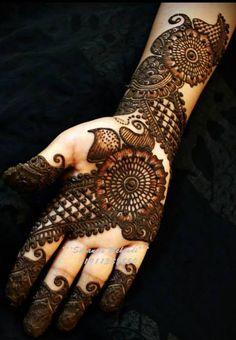Beautiful Wedding Mehndi Arabic Designs For 2015