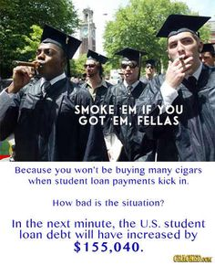 The 28 Most Infuriating (TRUE) Statistics You Don't Know #College #Debt