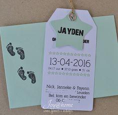 Geboortekaartjes - labels | Joy@home