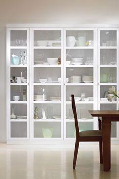 Ikea closet ideas built ins 64 ideas Bedroom Closet Storage, Dining Room Storage, Ikea Closet, Kitchen Butlers Pantry, Glass Kitchen, Kitchen Interior, Home Interior Design, Kitchen Decor, Luxury Kitchens