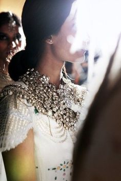 Beautiful necklace to spice up an outfit