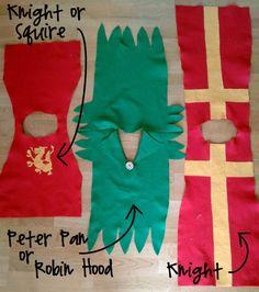 easy robin hood, knight, dress up costumes Dress Up Outfits, Dress Up Costumes, Boy Costumes, Costume Ideas, Robin Hood Costumes, Halloween Costumes, Boy Dress Up Clothes, Children Costumes, Halloween Halloween