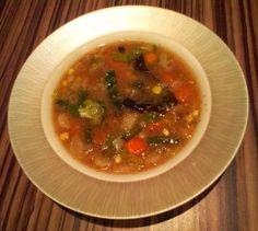 Zeleninová polévka s amarantem