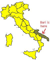 Now you know where is Bari