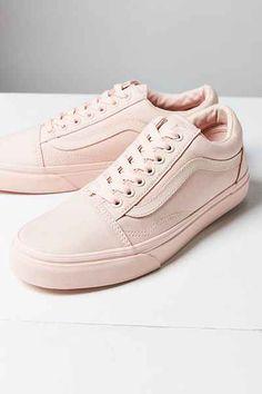 55a74aeeb19 Vans Mono Canvas Old Skool Sneaker Pink Vans Old Skool