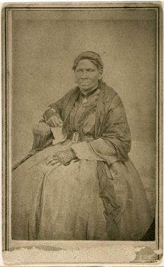 """""""Aunt Sukey"""" African American slave of Robert B. Smith family. 1855-1865 