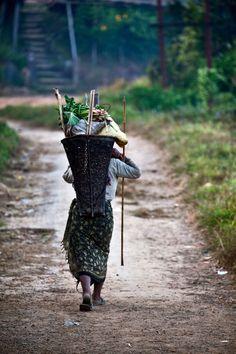 The Burden, Nagaland, NE India
