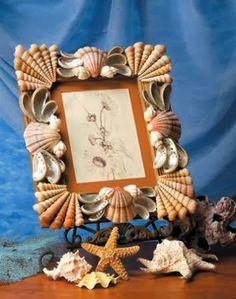 Kafijas krūze: Gliemežvāki (shell crafts)