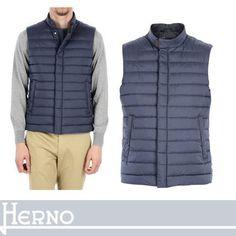HERNO ダウンベスト HERNO セール! 定番こそSEXYの極み 軽やかに着るダウンベスト