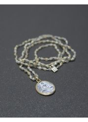 ICON - Buddha Spirit crystal - Grey