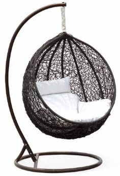 Very cool hanging chair.