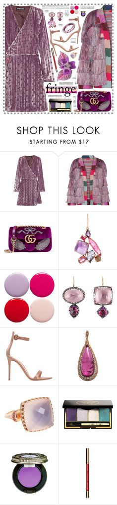 """""""Orchid!"""" by hennie-henne ❤ liked on Polyvore featuring House of Holland, Missoni, Gucci, Sharon Khazzam, Nails Inc., Larkspur & Hawk, Gianvito Rossi, Fernando Jorge, Christian Dior and Bobbi Brown Cosmetics"""