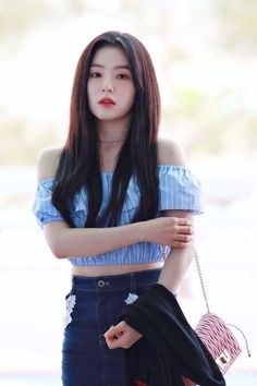 Korean Clothing Styles The Beige Blouse Seulgi, Asian Beauty, Korean Beauty, Korean Girl, Asian Girl, Loona Kim Lip, Red Velvet Irene, Korean Outfits, Swagg