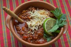 all-beef chili colorado #football #recipe
