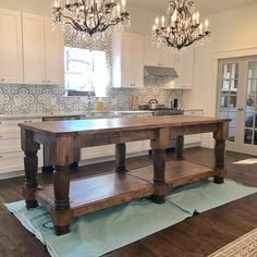 """Helllllllo new fav stain  We stained the island we built our friends using @minwaxusa Gel Stain in…"""""""