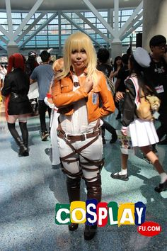 Christa Renz Cosplay From Attack On Titan At Anime Expo 2013