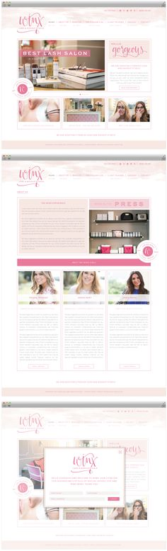 Brand Launch: Winx Lash & Makeup Studio - Salted Ink Design Co. | website design, wordpress website design, custom, feminine website design, small business, modern calligraphy, branding, brand stlyist | www.saltedink.com