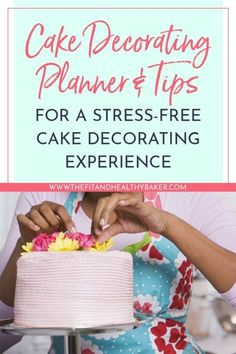 Need an organization tool that can reduce the stress of getting your cake orders done on time? Click through for a Free Cake Decorating Planner and Tips for Stress Free Cake Decorating. Cake Decorating For Beginners, Cake Decorating Techniques, Cake Decorating Tutorials, Decorating Ideas, Pretty Cupcakes, Beautiful Cupcakes, Baking Basics, Baking Tips, Baking Recipes