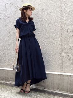 Pin by goody liunome on gaun pesta in 2019 Daily Fashion, Japan Fashion, Love Fashion, Girl Fashion, Womens Fashion, Style Du Japon, Modest Fashion, Fashion Dresses, Beautiful Dresses