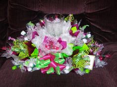 Entertainment By Tom - Candy Bouquet centerpiece