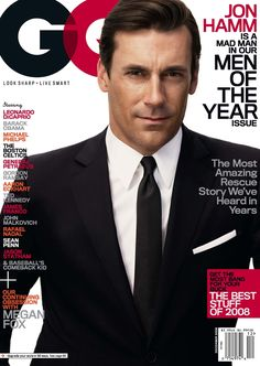 Madly in love with this mad man. Jon Hamm a.k.a Don Draper.