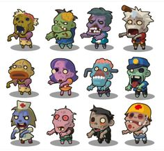 Elevate your workflow with the SD Zombie Pack asset from YAM art. Find this & more Characters on the Unity Asset Store. 2d Character, Character Design, Photography Props, Creative Photography, Pixel Characters, Fictional Characters, Tiefling Rogue, 3d Design Software, Popular Tags