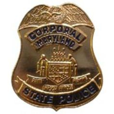 "Maryland State Police Badge Pin 1"" by FindingKing. $9.50. This is a new Maryland State Police Badge Pin 1"""