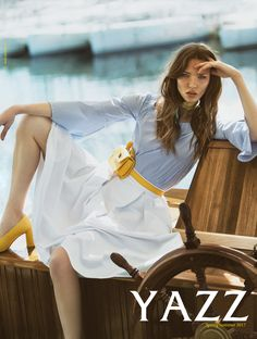 YAZZ Campaign Spring-Summer 2017 by Parallax adv. Create Image, Campaign, Spring Summer, Craft, Womens Fashion, Creative Crafts, Crafting, Handmade, Women's Fashion