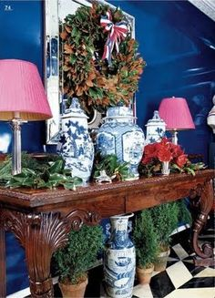 Chinoiserie Chic: A Chinoiserie Christmas - Miles Redd