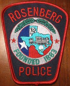 Rosenburg PD TX