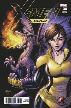 Kitty Pryde and Lockheed by Tyler Kirkham Marvel E Dc, Marvel Comics Art, Marvel Girls, Comics Girls, Marvel Heroes, Kitty Pryde, Hq Dc, The Uncanny, Spiderman