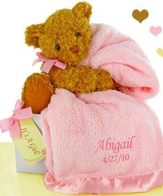 Buy Bear Essentials Gift Set-Pretty in Pink. More - Bear Essentials Gift Set-Pretty in Pink. Bear Essentials Gift Set-Pretty in PinkAdorable & sweet! This bear essentials gift set includes a luxurious super soft baby blanket and new teddy perfect for welc Baby Shower Host, Baby Shower Gift Basket, Baby Shower Gifts, Baby Showers, Pink Blanket, Minky Baby Blanket, Softest Blanket, Bear Blanket, Baby Gift Box