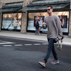 streets. v2  –––––––––––––––  #TMM #sandro #yeezyboost350v2 #beluga #flatlay #flatlays #flatlayapp www.flat-lay.com