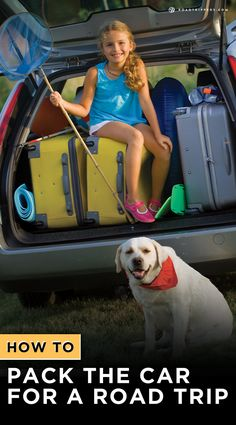 Have to much to pack? Here are some tips to get it all in the car!