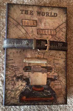 Tim Holtz Journal by Anne Rostad