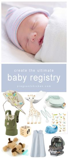 Build your ultimate baby registry by using BabyList. Register for anything you can find online and keep it all in one place! Check out this sample registry to get you started! #baby #registry #babyshower #gifts #babygear